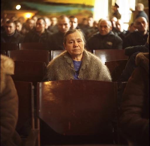 """Sasha Maslov, from the project """"Prison Theatre"""""""