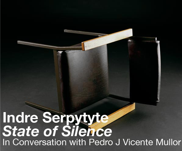 """Indre Serptyte, """"State of Silence"""""""