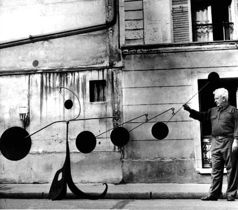 Calder with Myxomatose, Paris