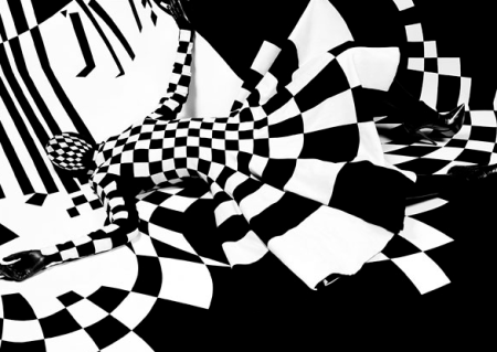 Definition of op art black and white op art stripes
