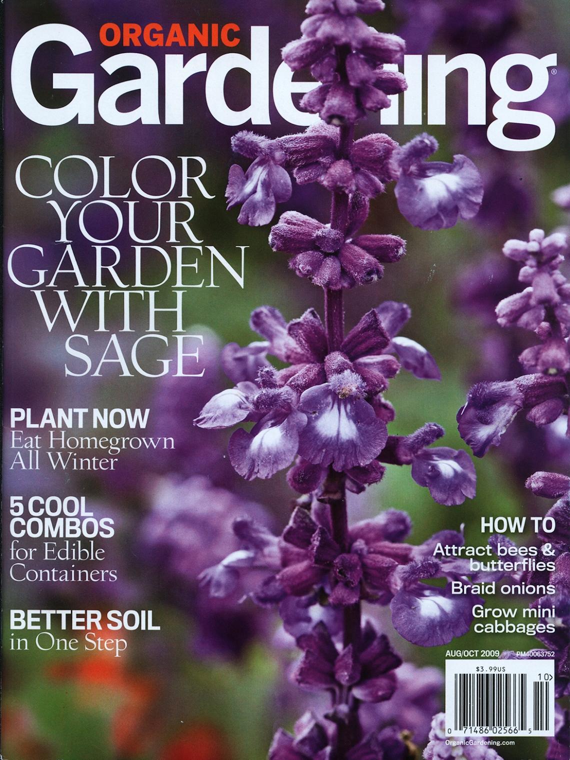 Organic Gardening Cover