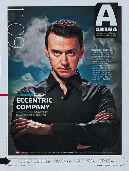 Chicago Magazine, Evan Kafka