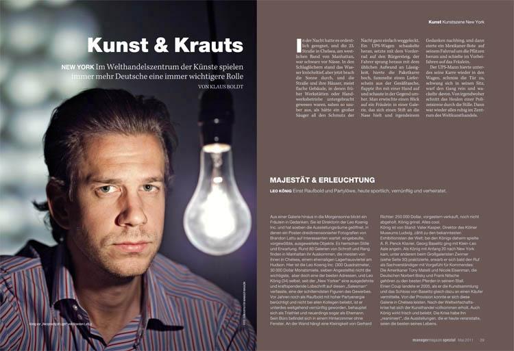 Manager Magazine - Evan Kafka