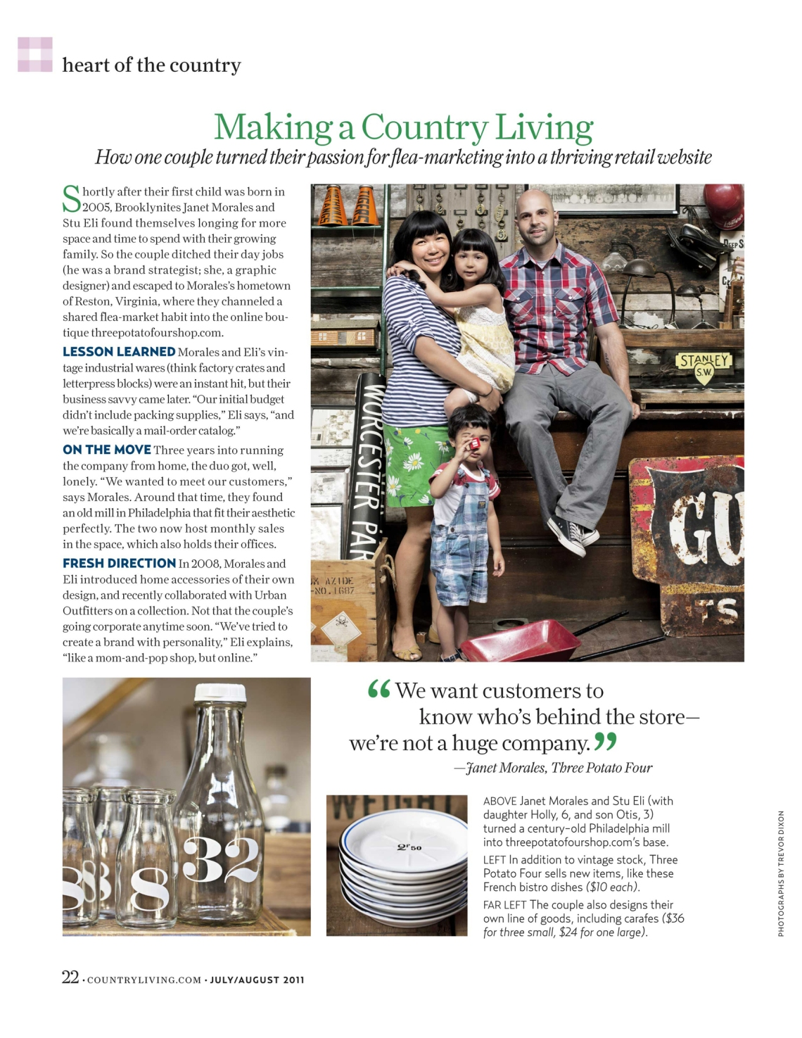Trevor Dixon - Country Living Magazine