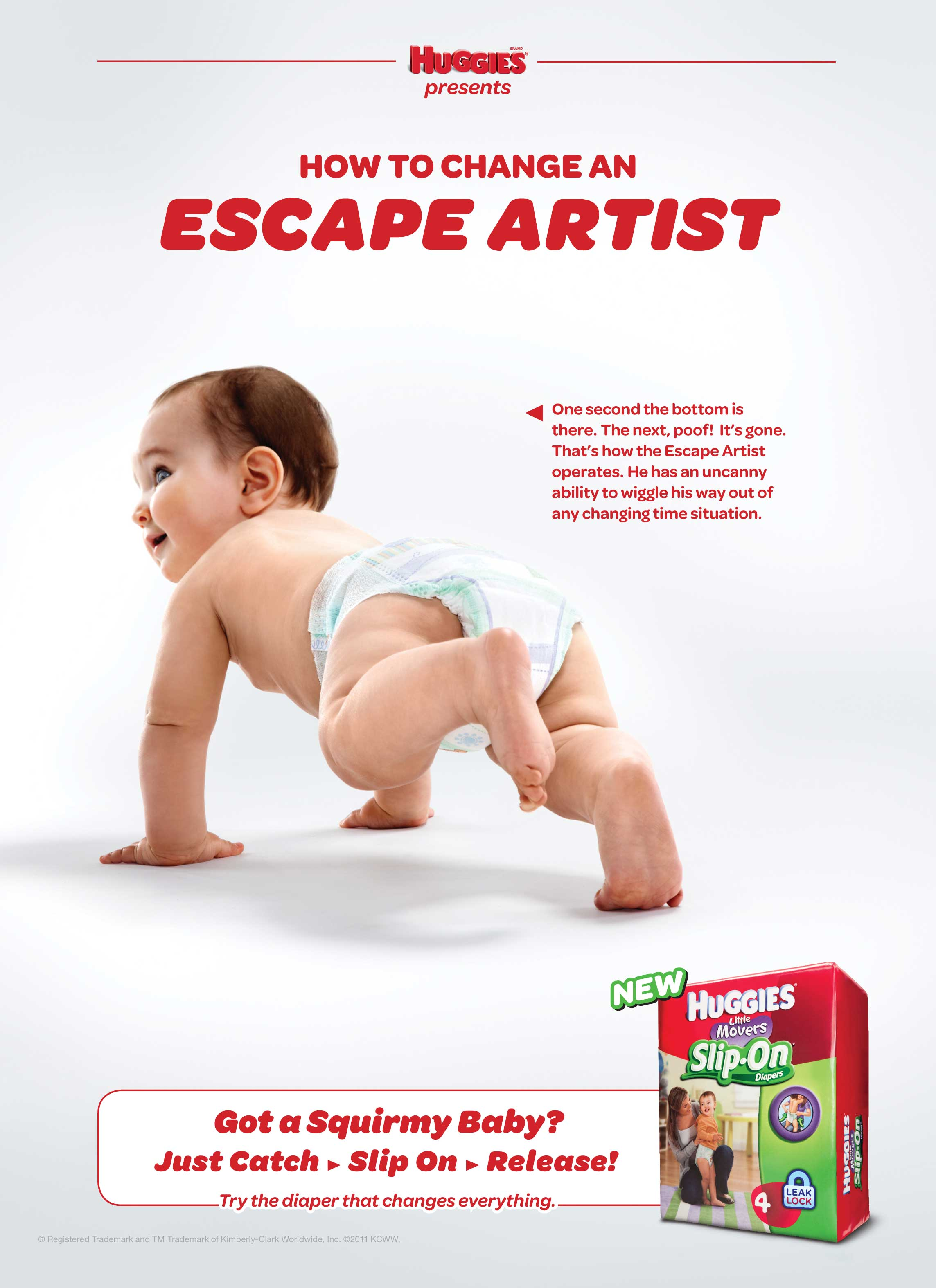 Evan Kafka - Huggies Slip-Ons Escape Artist
