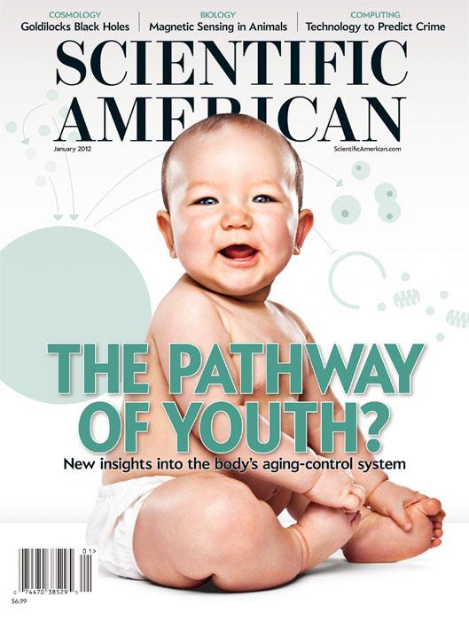 Evan Kafka - Scientific American Cover