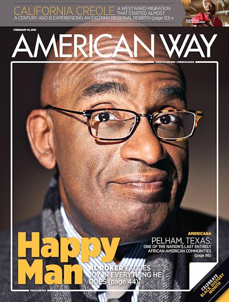 Evan Kafka - Al Roker/American Way Magazine