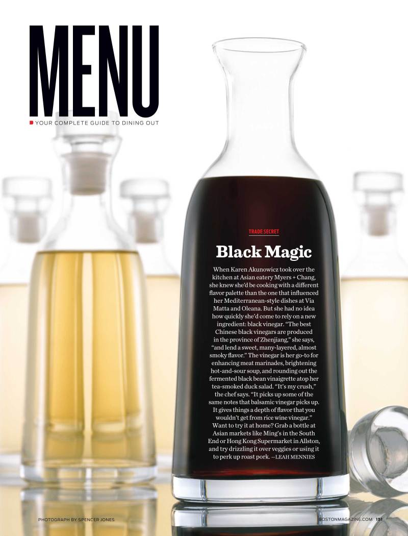 Spencer Jones - Boston Magazine - Black Vinegar