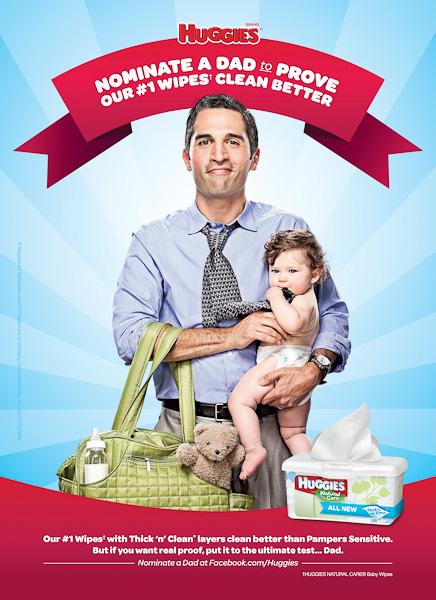 """José Roberto Rincón: Huggies: """"Have Dads Put Huggies to the Test"""""""