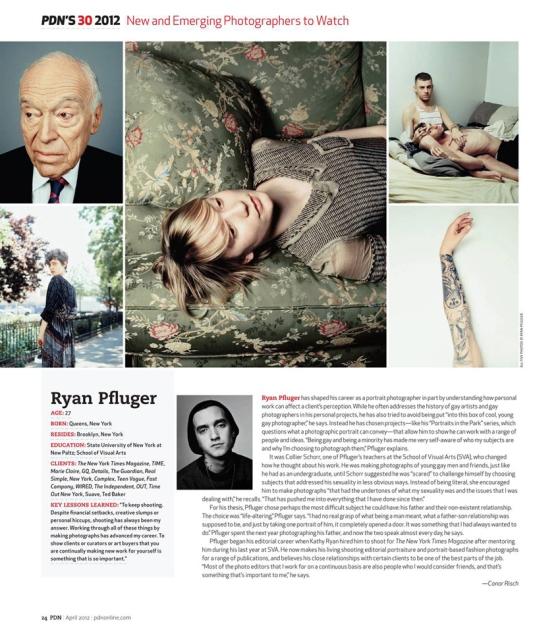 Ryan Pfluger - PDN 30
