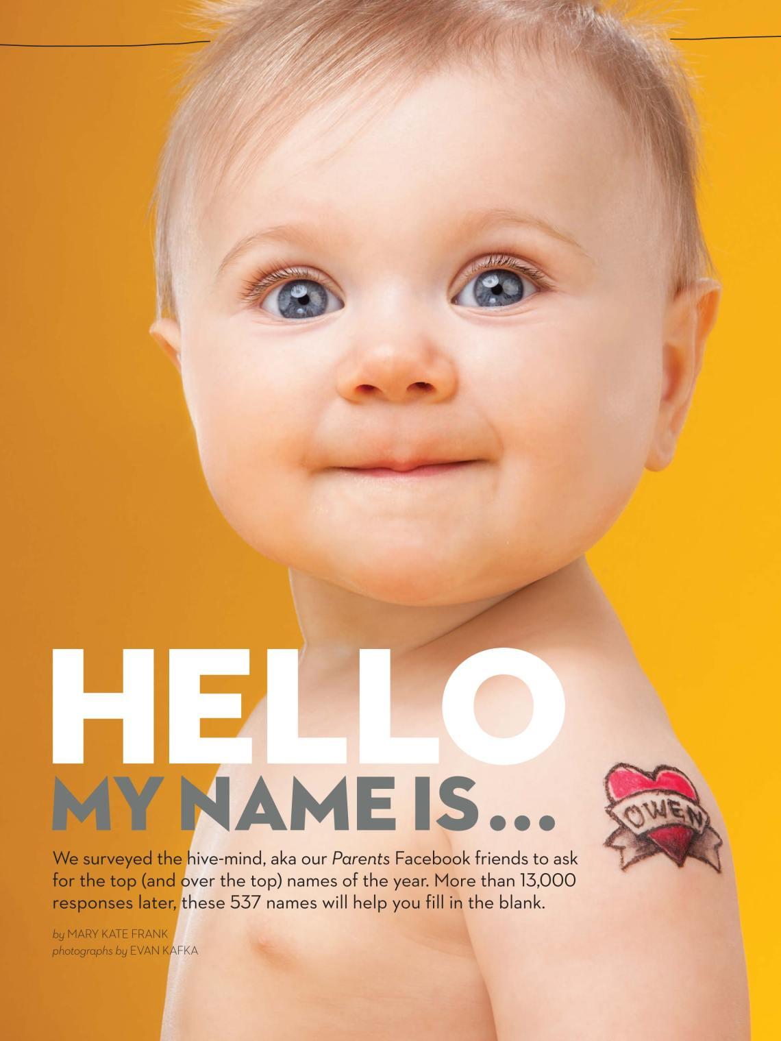 Evan Kafka - Parents Magazine