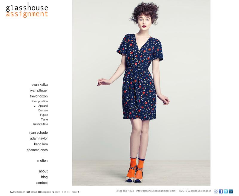 Glasshouse Assignment Website