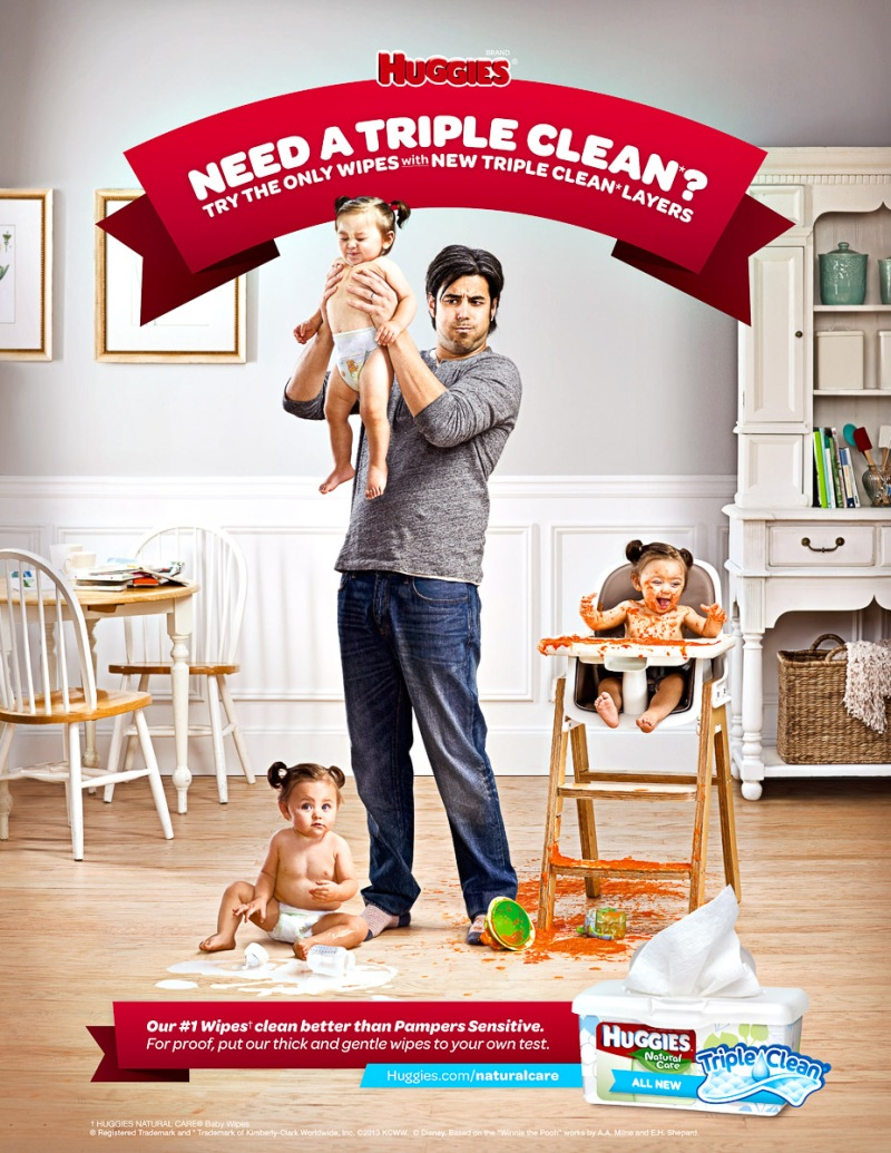 Evan Kafka - Huggies Triple Clean - Ogilvy & Mather