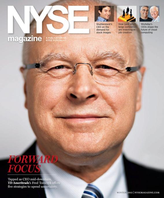 Evan Kafka - NYSE Magazine
