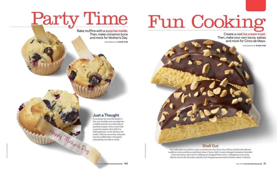 Kang Kim - Food Network Magazine
