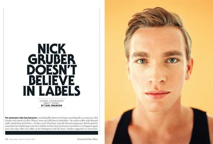 Ryan Pfluger - Nick Gruber Tearsheet