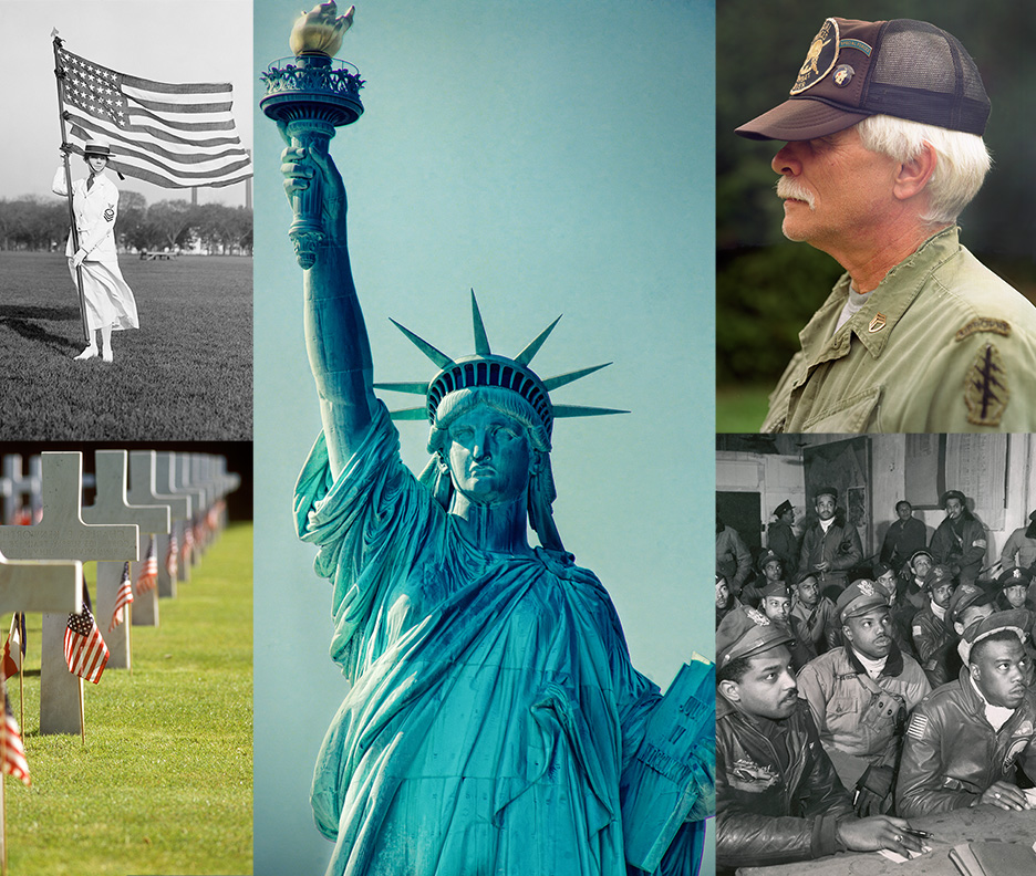 Stock Images; We Salute You